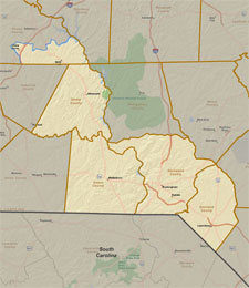 District 25 Map